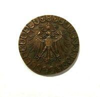 EXONUMIA MEDAL 18 JANUARY 1871 - 1931 / WEIMAR REPUBLIC / COPPER MEMORY TOKEN