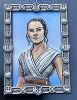 Disney Star Wars DSSH Pin REY LE 400 The Rise Of Skywalker Limited Edition