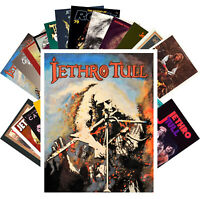 Postcards Pack [24 cards] Jethro Tull Rock Music Posters Vintage CC1227