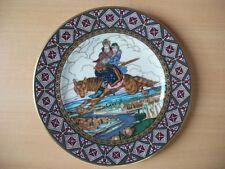 Villeroy&Boch Contes de Fées russes Zvorykin Plaque Ivan&Tsarévna Fuir sur Loup