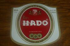 EN IX sep. Vietnam HADO 500 ml beer label