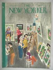 New Yorker Magazine - July 26, 1941 - COVER ONLY ~~ R. Taylor art, art fair