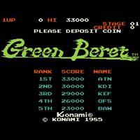 Used Green Beret Rush'n Attack Konami 1985 Arcade Jamma PCB F/S from JAPAN