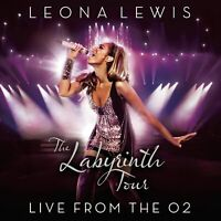 LEONA LEWIS : THE LABYRINTH TOUR LIVE FROM THE O2 (CD + DVD) -  BRAND NEW CD\