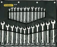 STANLEY 89-520 24 PC METRIC & SAE COMBO SPANNER SET BNIB FREE POST