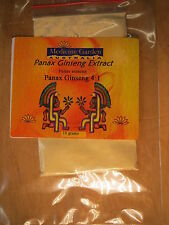 PANAX GINSENG. 4 TIMES POWDER CONCENTRATE. 10 grams.