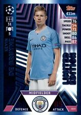 MATCH ATTAX UEFA CHAMPIONS LEAGUE 2018/19 KEVIN DE BRUYNE LIMITED EDITION LE15