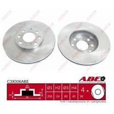 Bremsscheibe, 1 Stück ABE C3X006ABE