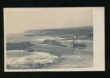 Cornwall BUDE Breakwater sailing ship pre1919 PPC  by Thorn