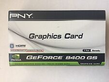 PNY NVIDIA GeForce 8400GS (VCG84512D3SXPB) 512MB DDR3 SDRAM PCI Graphic Card