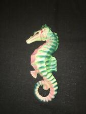 Vintage Lefton Norcrest Seahorse Wall Plaque Pocket For Mermaid Fish Bath Decor