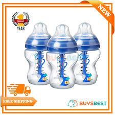 Tommee Tippee Blue Advanced Anti-Colic Baby Feeding Bottle 3x260ml - 422571