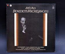 LP: Arturo Benedetti Michelangeli Rachmaninoff RAVEL Piano Concertos Gracis