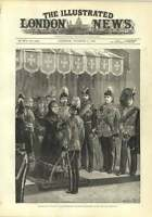 1882 Queen Windsor Castle Decorates Officers And Soldiers Egyptian Expedition