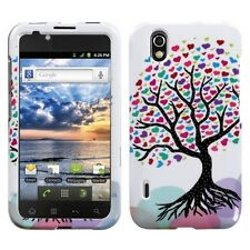 For Alltel LG Ignite, HARD Protector Case Snap on Phone Cover, Love Tree