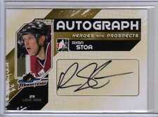 RYAN STOA 10/11 ITG H&P UPDATE Rookie Auto Autograph RS Hershey Bears Signed