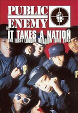 NEW Public Enemy - It Takes a Nation: London Invasion 1987 (DVD)
