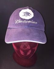 Budweiser Embroidered, Anheuser Busch Logo Patch, Official Seaworld One Size Hat