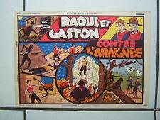 EDITION SAGE / L APPEL DE LA JUNGLE / NUM 2 / RAOUL ET GASTON / 1938