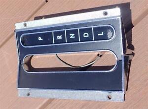 1964 1965 Chevelle Automatic Center Console Shifter Plates Shift Indicator Auto