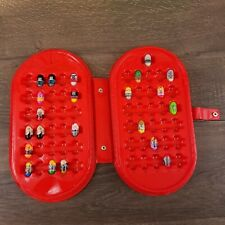 Mighty Beanz Lot of 22 and Beanz Red Case