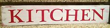KITCHEN Rustic LARGE Wood Sign Fixer Upper Farmhouse Distressed 3 FEET LONG HGTV