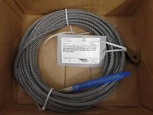 """GENUINE UNI-LOC WIRE ASSEMBLY, GROVE MANLIFT PARTS 7246001235 CABLE 7/16"""" - 860"""""""