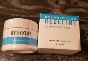 Rodan + and Fields Redefine Lip Renewing Serum PM 60 Capsules NEW FORMULA