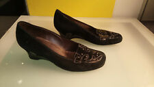Gabor Fashion Womens high heel wedge shoes size 6 Good condition