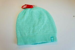 The North face Youth Dock Junior  Beanie Green  knit    size M/M