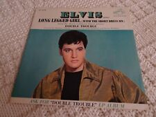 ELVIS PRESLEY LONG LEGGED GIRL/THAT'S SOMEONE YOU NEVER FORGET RCA 9115 PROMO