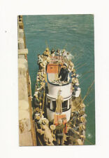 VINTAGE UNUSED UNION 76 GASOLINE POSTCARD OF A DEEP SEA FISHING BOAT CALIFORNIA