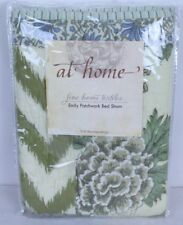 """Soft Surroundings Emily Patchwork King Bed Pillow Sham Floral Muted 30 x 36"""""""