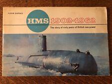 Lyons Tea Cards HMS 1902-1962 album, 1962