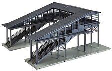 Faller 131279 H0, Bahnsteigbrücke überdacht, Epoche II, Bausatz, Neu, Pola
