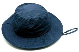 COLUMBIA omni-tech hat vintage blue wide brim outdoor sun hat USA Made - size M