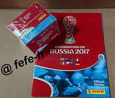 Panini - CONFEDERATIONS CUP - RUSSIA  2017 - Album Vide + Boite 50 Pochettes