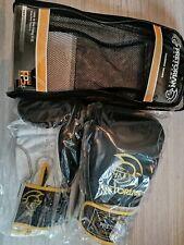 Gants de boxe Pretorian noir et jaune NEUF taille 14oz boxing gloves