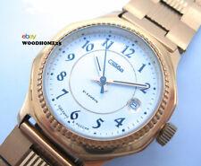 Wristwatch Watch SLAVA Mechanical movement 2428 Russian Yellow Metall 2003
