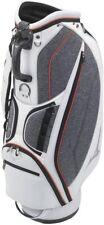 MIZUNO Caddy Bag MD Style White x Gray 5LJC210600 Men
