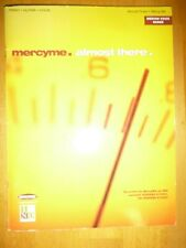 Piano / Guitar / Vocal Song Book: Mercy Me. Almost There