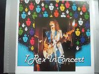 T. REX   -  IN  CONCERT  , CD  1989  , GLAM  ROCK ,  TEICHIKU  RECORDS ,  20CP-4