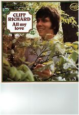 EUROVISION CLIFF RICHARD LP ALBUM ALL MY LOVE
