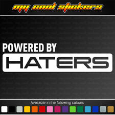 Powered By Haters vinyl sticker decal, 4X4 JDM ute muscle car drift race turbo