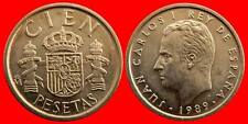 UNICIRCULATED COIN 100 PESETAS 1989 SPAIN