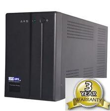 OPTI UPS TS1700B (1500VA) Uninterruptible Power Supply Backup 2 INSIDE BATTERIES