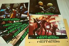 STAR TREK nemesis  !   jeu 8 photos cinema lobby cards science fiction
