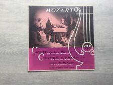 Mozart-For Piano Ingrid Haebler Vinyl album