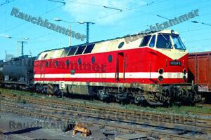 PE-Foto 10x15 DR 119 028-9 Dresden-Friedrichstadt 1987 / F213681