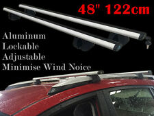 Roof Rack Cross Bars universal fits vehicles with factory rails 48'' 122cm